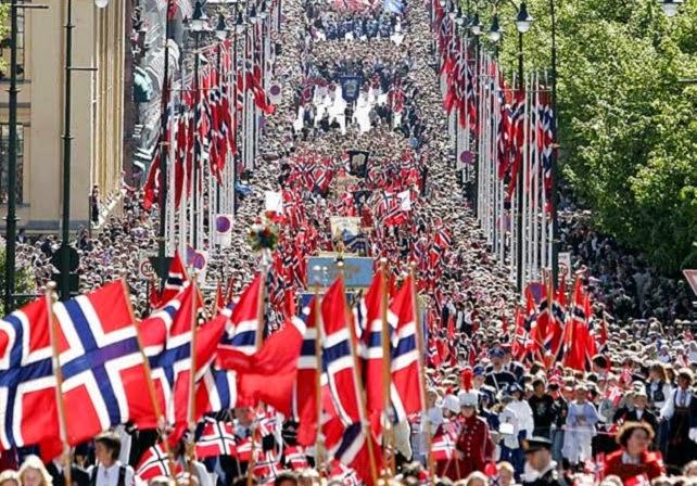 día nacional noruega mayo