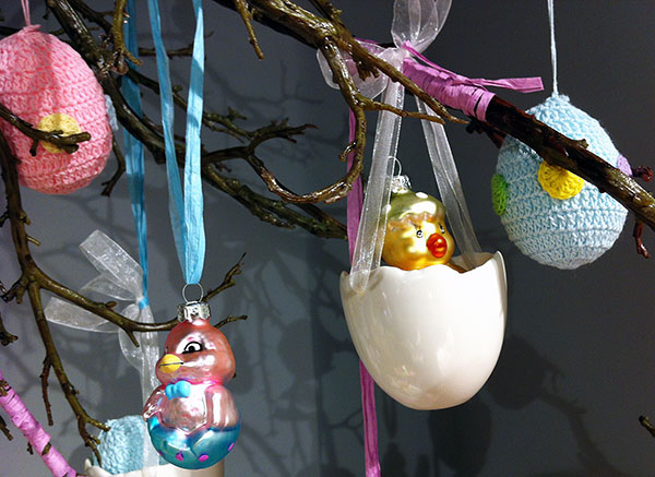 Easter trees on Design and fashion recipes