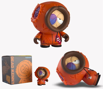 Kidrobot - Dead Kenny South Park Mini Figure and Packaging