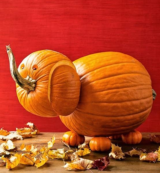 Inside the brick house creative pumpkin carving ideas for How to carve an elephant on a pumpkin