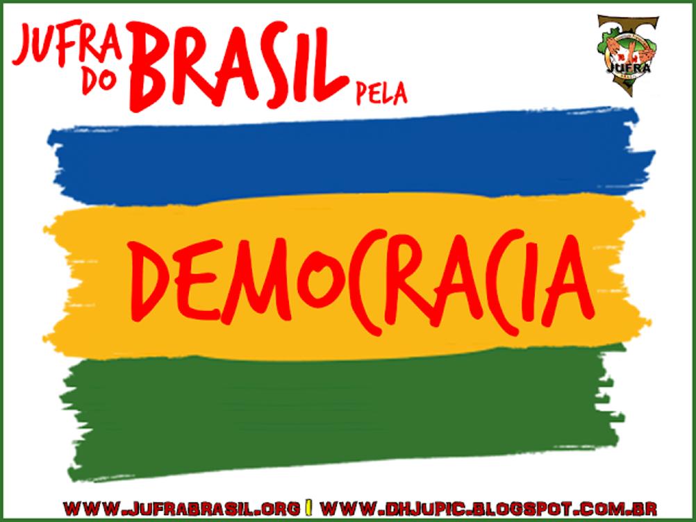 #JufraPelaDemocracia