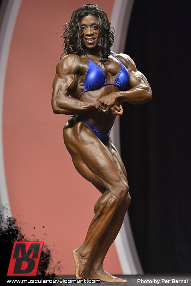 Iris Kyle At The 2012 Ms. Olympia