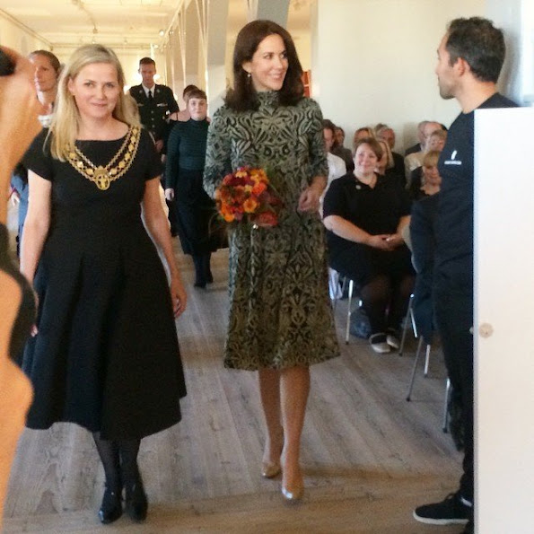 Crown Princess presents St. Loye Prize at the Round Tower in Copenhagen