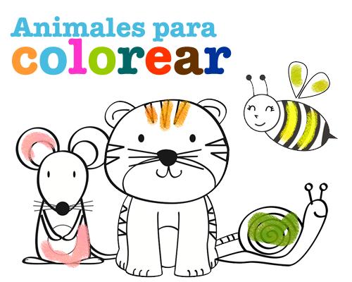 Dibujos para Colorear: Animales para colorear