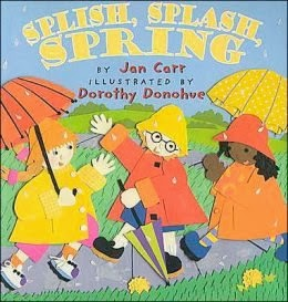 bookcover of Splish, Splash, Spring  by Jan Carr