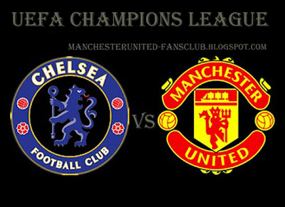 man utd champions league quarter final, manchester united vs chelsea