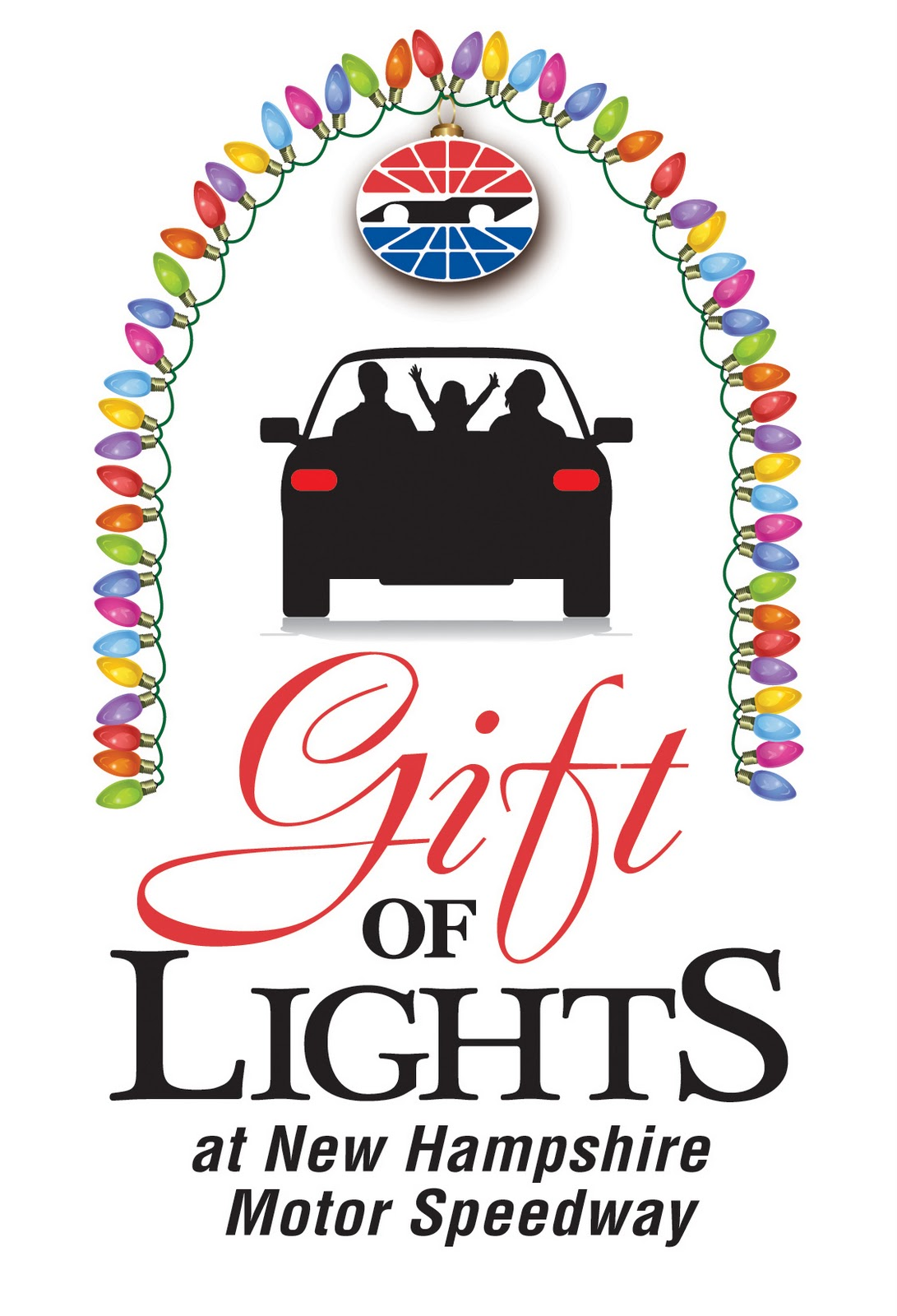 The Gift of Lights at The New Hampshire Motor Speedway |
