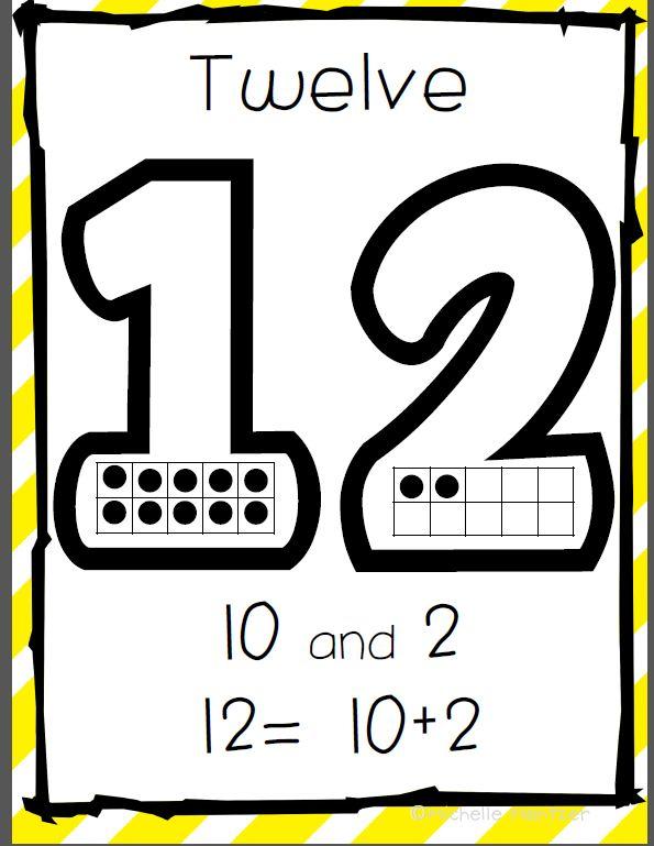 Teen Numbers 54