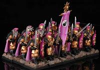 Guerreros del Caos de Slaanesh de Warhammer