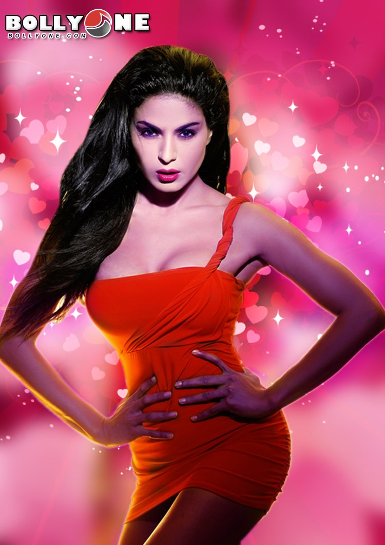 Veena Malik Valentine Wallpaper1 - Veena Mallik Valentine Day Photo Shoot Pics