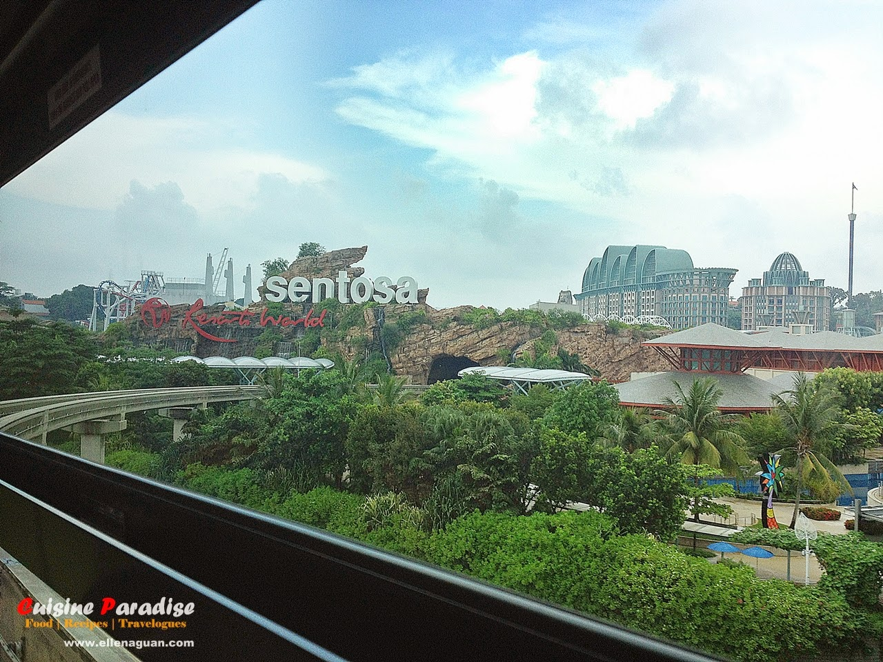 Sitio web Resorts World Sentosa Oficial