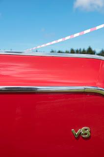 Classic car V8
