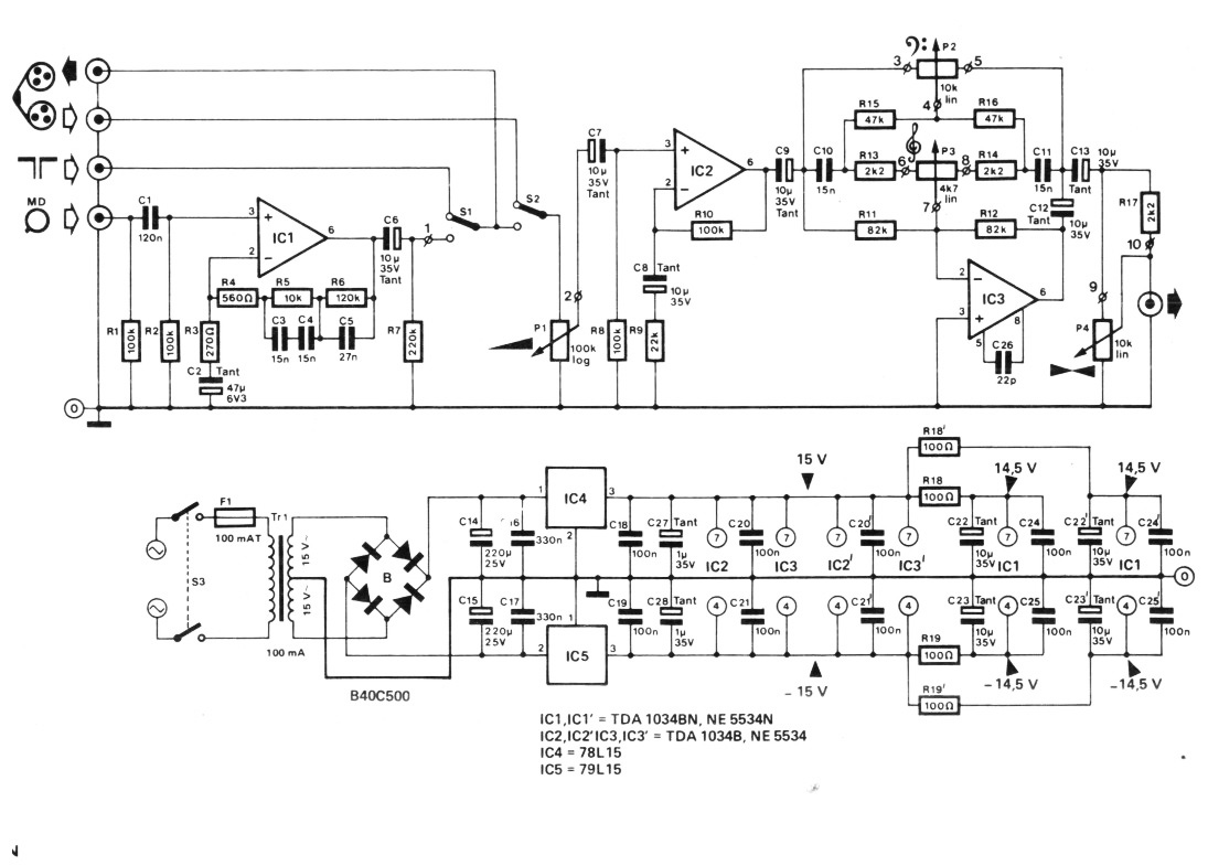 2012 Low Noise Mic Preamp Using Ne5534 Ic Circuit Diagram Pcb2