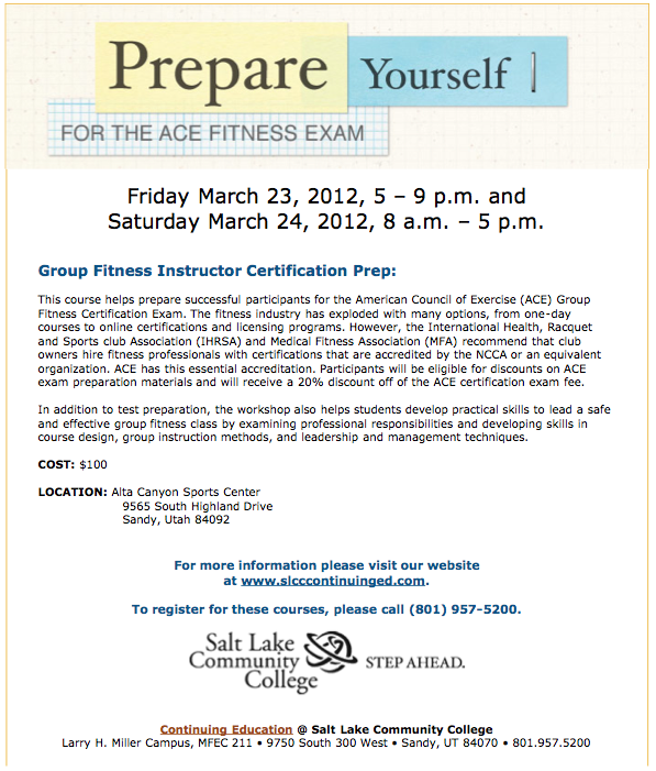 ACE Certification IDEA Health and Fitness Association - oukas.info