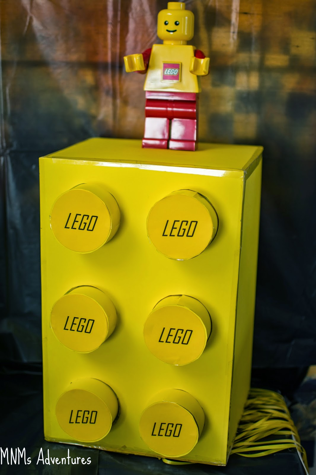 LEGO movie theme decoration pinata