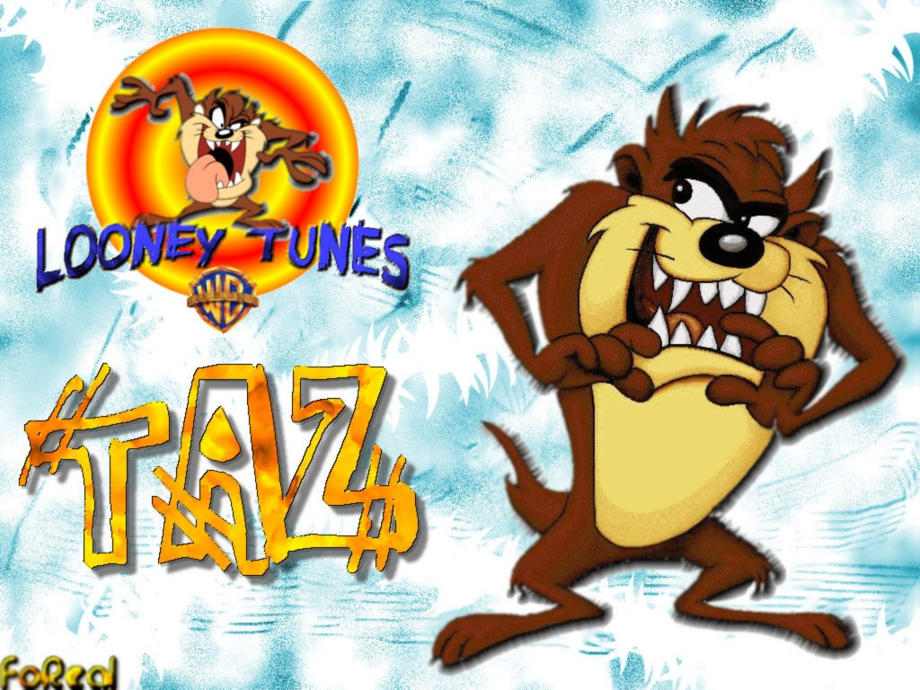 Ty Hjataivas Looney Tunes Tasmanian Large Wallpapers
