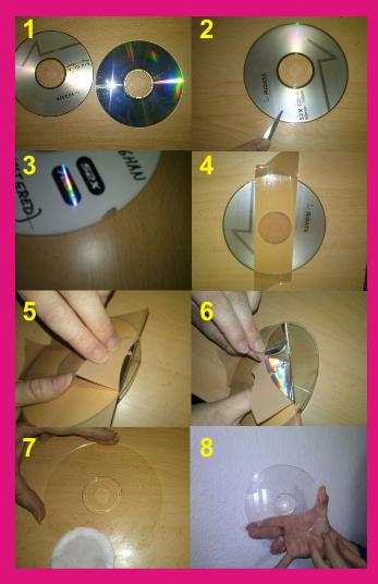 Pasos para limpiar CD