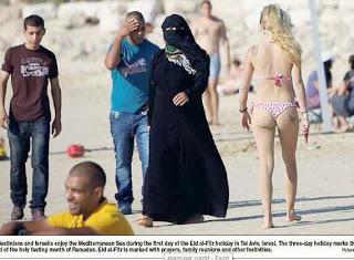 burkas and bikinis