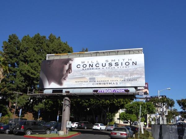Concussion movie billboard