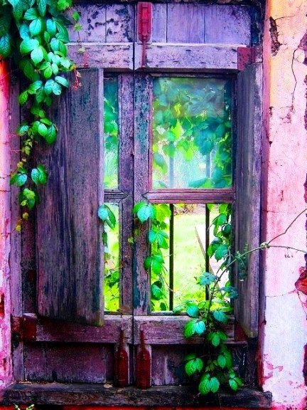 Boho Window Bench