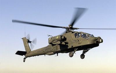 helicóptero derribado a pedrada