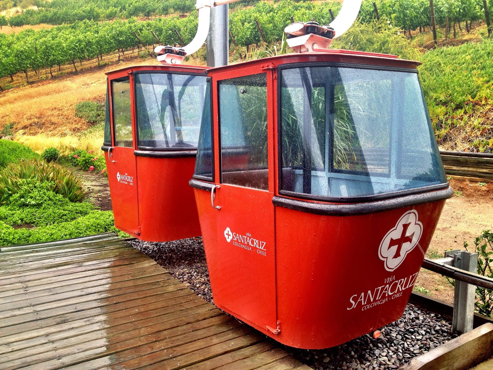 Santa Cruz winery - funicular