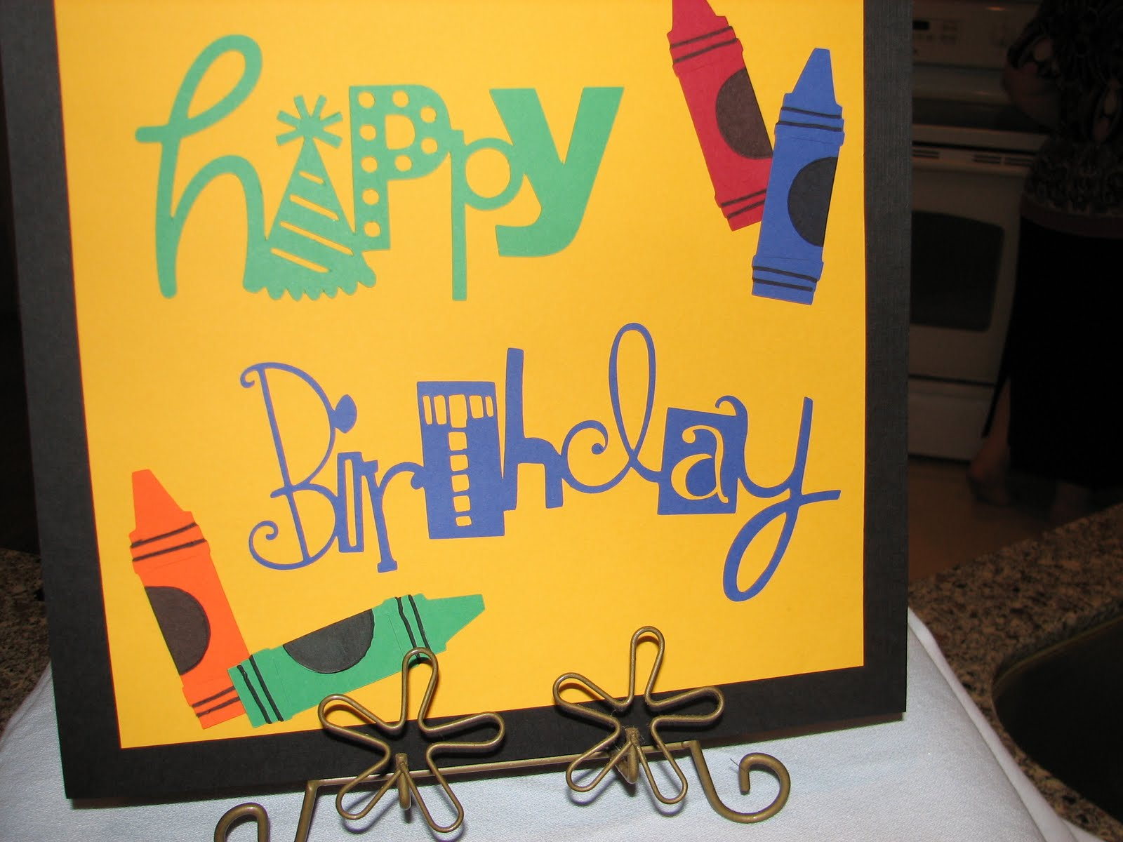 Crayon Party - 7th Birthday
