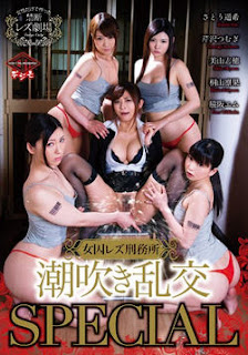 VICD-255 Xuzhou Lesbian Prison Squirting Orgy SPECIAL-cover