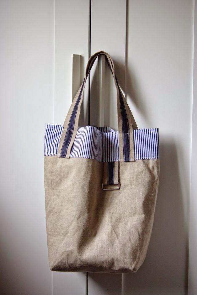 torba na zakupy , torba ekologiczna , len ,
