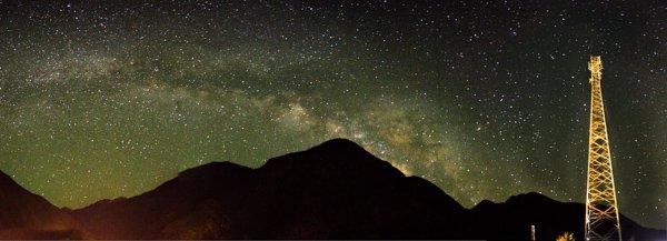 مسارات النجوم- التصوير الليلي