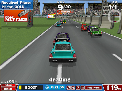 American Racing Game on StarfallGamer