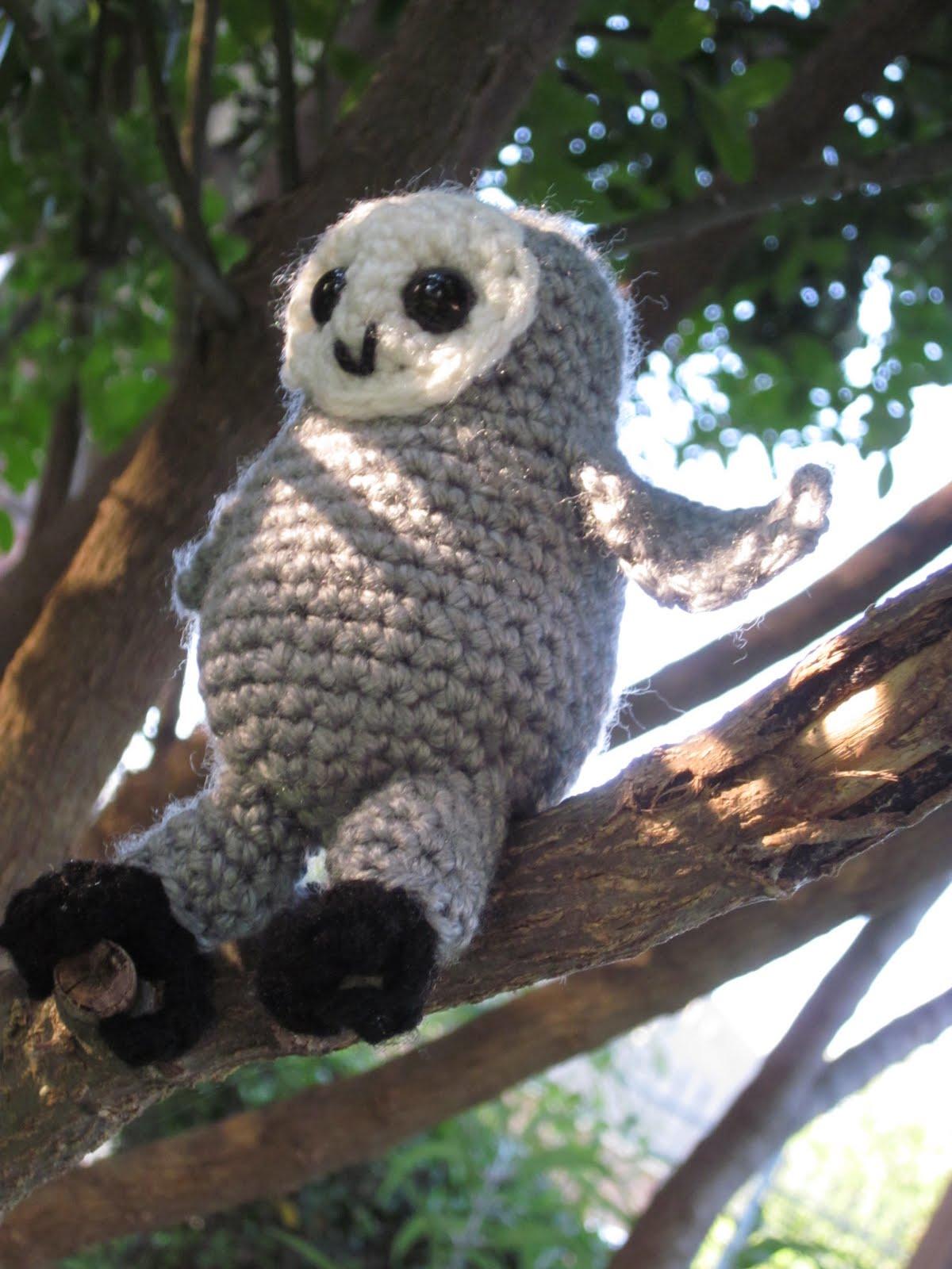 Amigurumi Barn Owl : Lemmy Loop: Barn Owlet Amigurumi