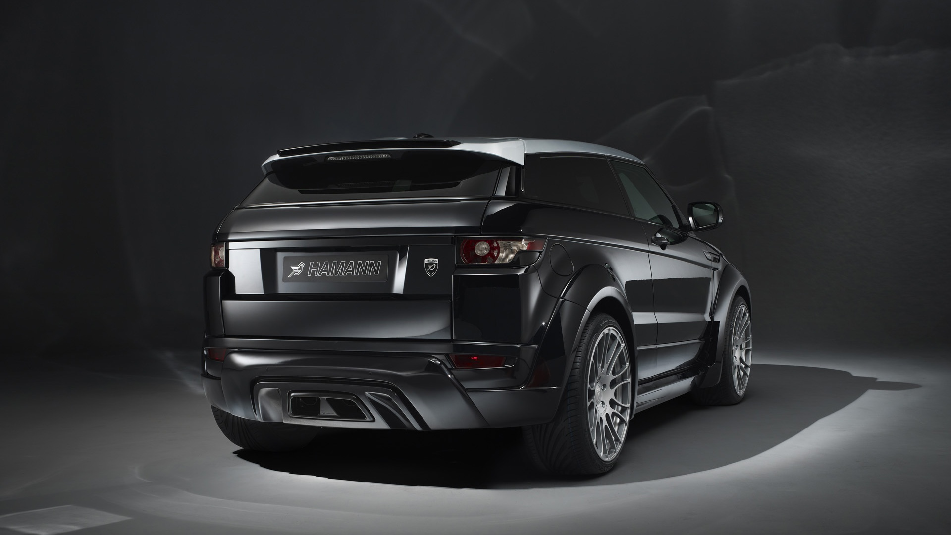 hamann range rover evoque studio rear full hd desktop. Black Bedroom Furniture Sets. Home Design Ideas