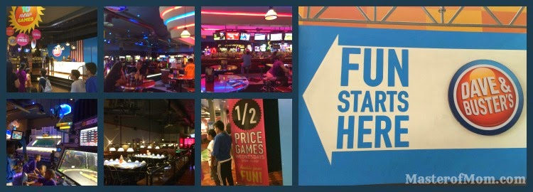 Dave and Buster's in Dolphin Mall, Miami