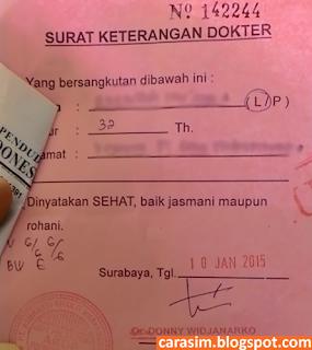 Cara membuat SIM Hilang