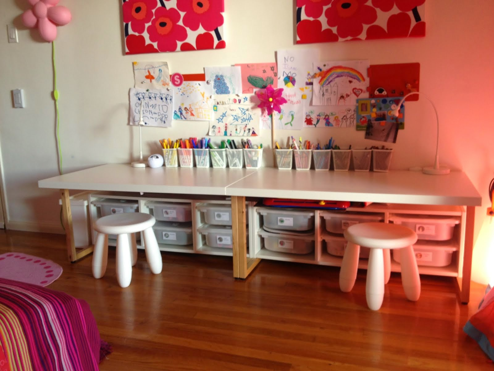 Ikea Toddler desks