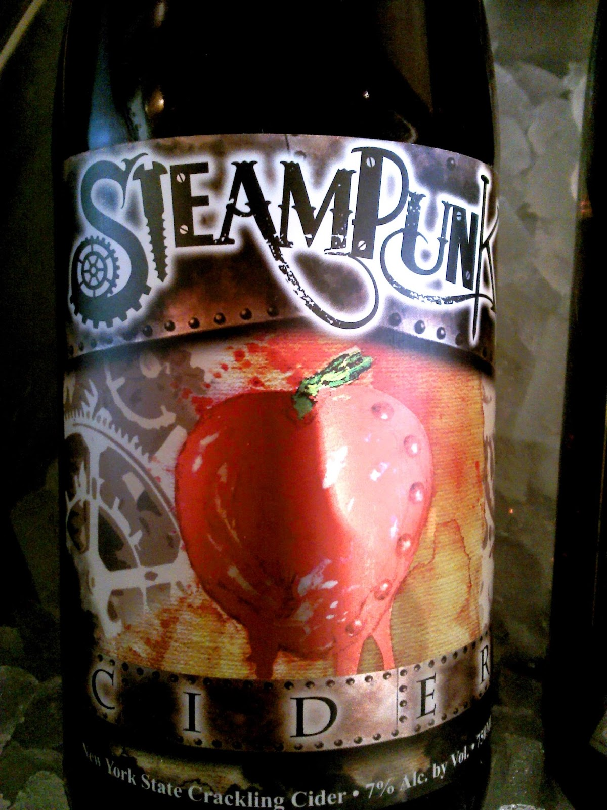 east coast wineries  steampunk cider from leonard oakes  ny