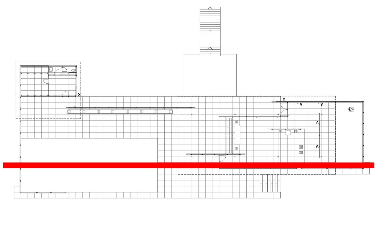 Barcelona pavilion plan - Mies Van Der Rohe S Barcelona Pavilion Plan Which Best Suits My Concept Of Minimalism And His Quote Less Is More