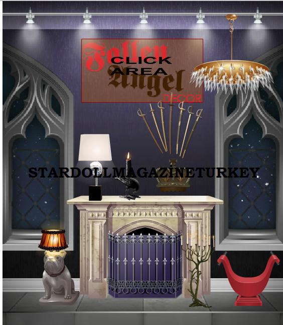N zleme fallen angel dekor stardoll magazine turkey for Dekor turkey