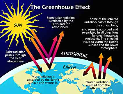 global warming: green house gases