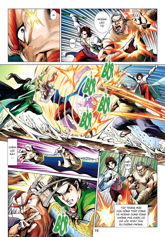 Xạ Điêu Anh Hùng Truyện chap 100 – End Trang 19 - Mangak.info
