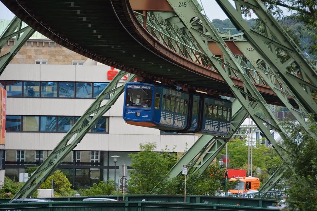 Schwebebahn Haubtbahnhof Wuppertal