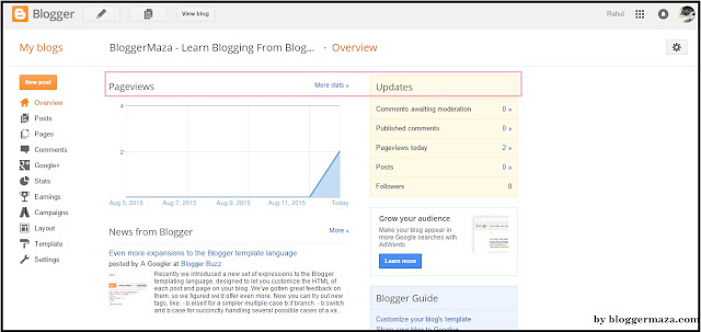 blogger-starter-guide-dashboard-step-by-step-introduction-overview