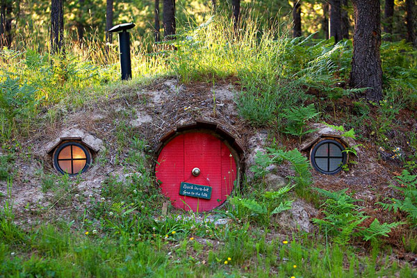 Standard Abode in the Hobbit Village