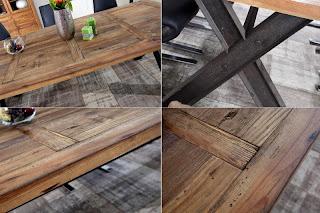 moderny dreveny stôl do jedalne alebo do kuchyne