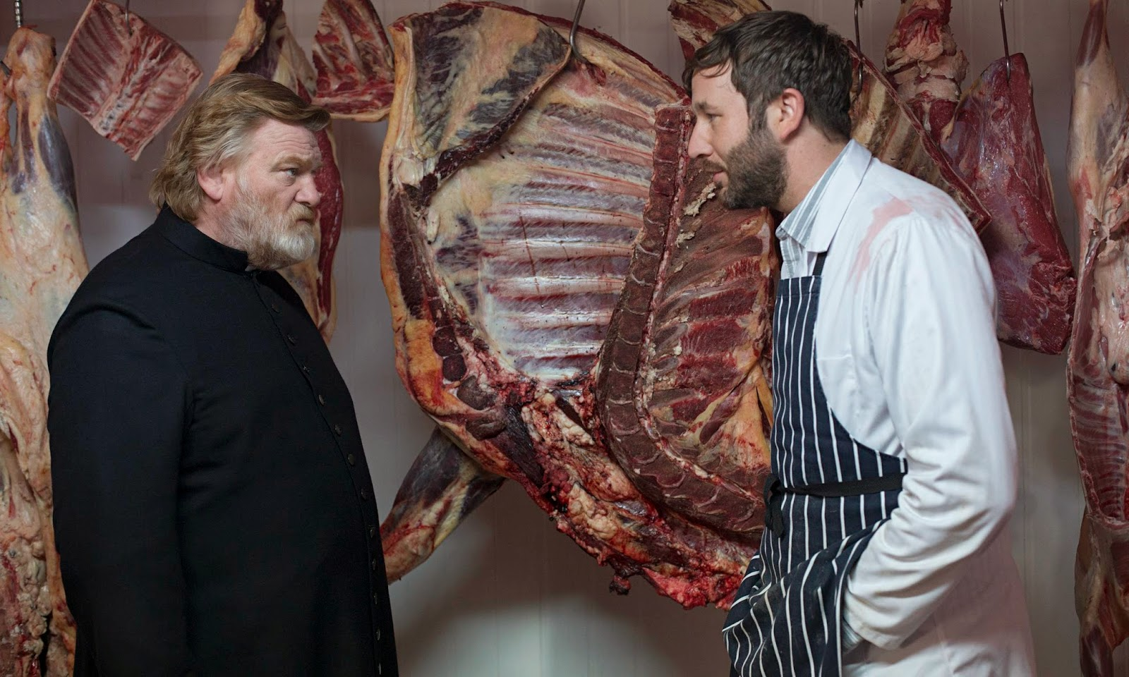 Calvary:Brendan Gleeson  and Chris O'Dowd | A Constantly Racing Mind