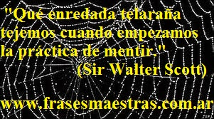 frases de Sir Walter Scott