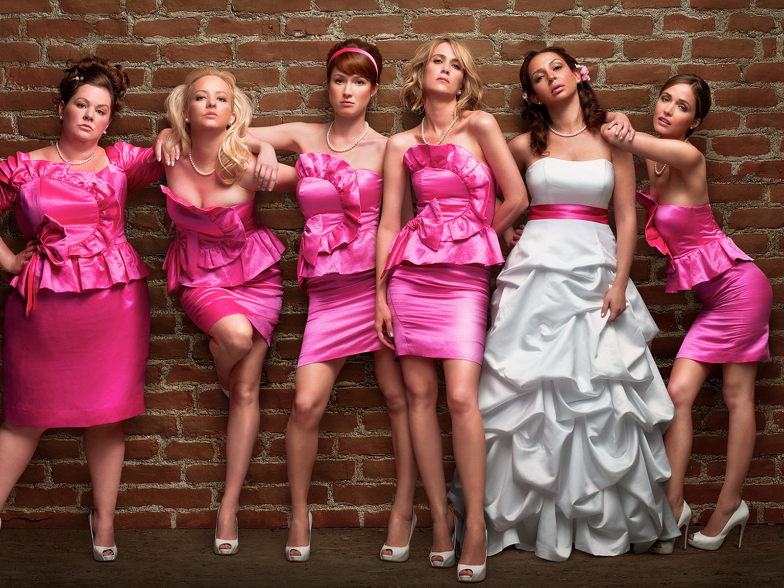 El glamour de Margo: Damas en guerra (Bridesmaids, 2011) de Paul Feig