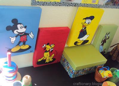 disney mickey wall art
