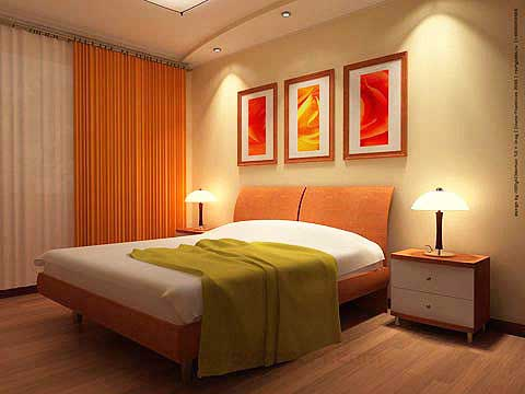 Modern Bedroom Design Ideas on Modern Furniture  Modern Bedroom Curtains Design Ideas 2011 Photo